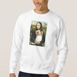 Mona Lisa - Papillon 4 Sweatshirt