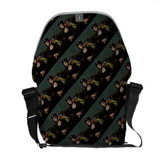 Mona Lisa Pirate Captain Commuter Bags