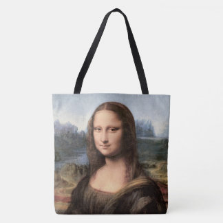 Mona Lisa Portrait / Painting Tote Bag
