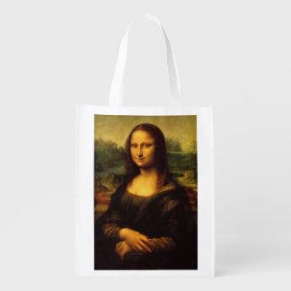 Mona Lisa Reusable Grocery Bag