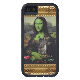 Mona Lisa wicked witch phone case