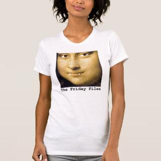 Mona Lisa with Pussycat Fangs T-Shirt