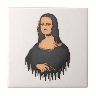 Mona Pistol Small Square Tile