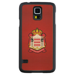 Monacan coat of arms maple galaxy s5 case