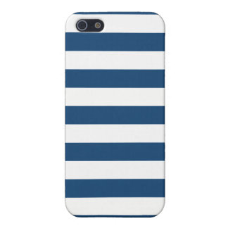 Monaco Blue Stripes Pattern Case For iPhone 5/5S