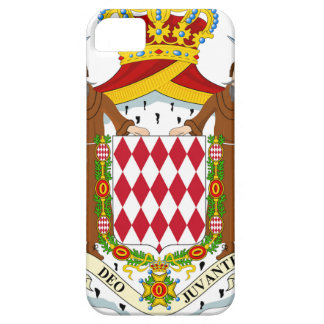 Monaco Coat of Arms Barely There iPhone 5 Case