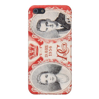 Monaco Royalty Postage Stamp iPhone Cover