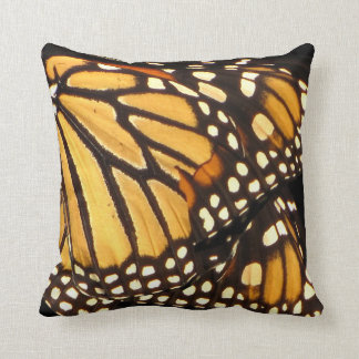 Monarch Butterfly Abstract Cushion