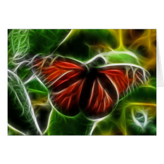 Monarch Butterfly Note Card