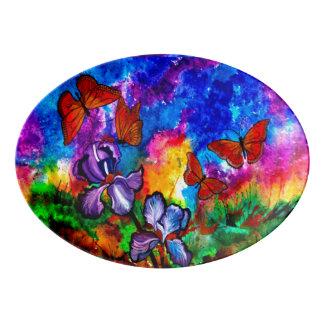 Monarchs at Sunset Serving Platter