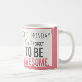 monday cafe coffee mug