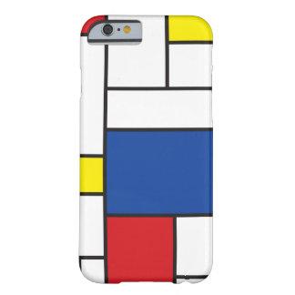 Mondrian Minimalist De Stijl Art iPhone 6 case Barely There iPhone 6 Case
