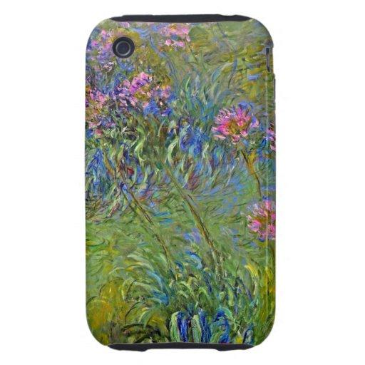 Monet Agapanthus Tough iPhone 3 Cover