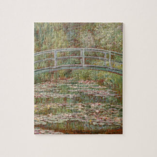 Monet Bridge Over Lily Pond Impressionist Jigsaw Puzzle