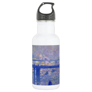 Monet Charing Cross Bridge 532 Ml Water Bottle