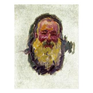 Monet, Claude Selbstportr?t 1917 Technique ?l auf  Post Cards