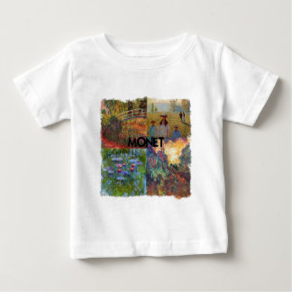 Monet Collage Baby T-Shirt