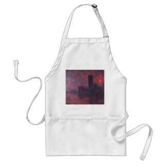 Monet Houses of Parliament at Sunset Apron