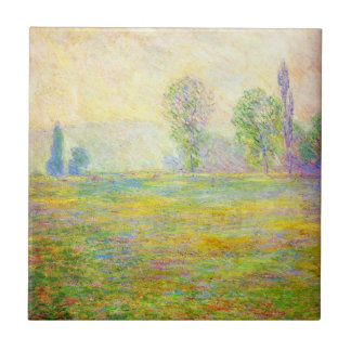 Monet Meadows at Giverny Tile