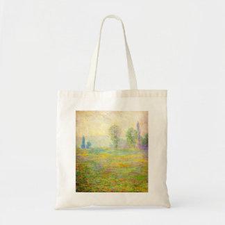 Monet Meadows at Giverny Tote Bag