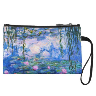 Monet's Water Lilies Wristlet
