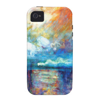 Monet Smoke in the Fog Case-Mate iPhone 4 Cases
