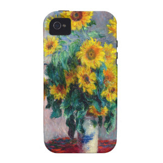Monet - Sunflowers iPhone 4 Cover