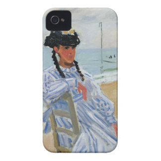 Monet - Trouville Beach iPhone 4 Case-Mate Cases