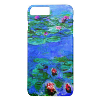 Monet - Water Lilies (red) iPhone 8 Plus/7 Plus Case
