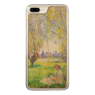 Monet Woman Seated Under The Willows Fine Art Carved iPhone 8 Plus/7 Plus Case