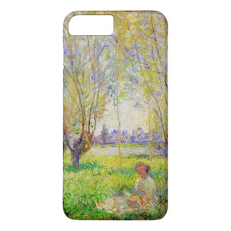 Monet Woman Seated Under The Willows Fine Art iPhone 8 Plus/7 Plus Case