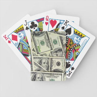 Money playing cards