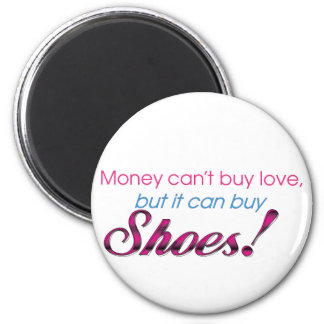 Money & Shoes 6 Cm Round Magnet