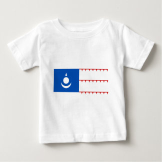 Mongol Empire Flag Baby T-Shirt