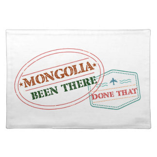 Mongolia Been There Done That Placemat