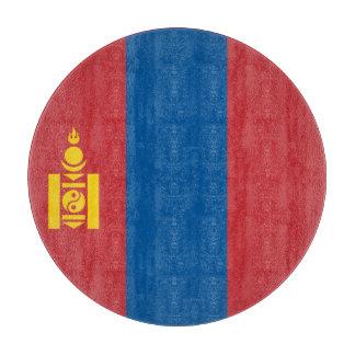 Mongolia Flag Cutting Board