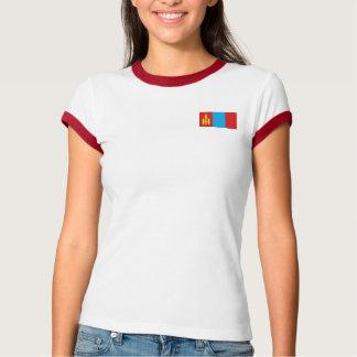 Mongolia Flag + Map T-Shirt