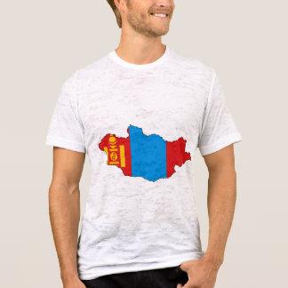 Mongolia flag map T-Shirt