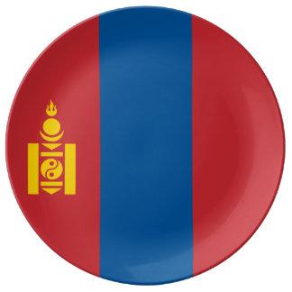 Mongolia Flag Plate