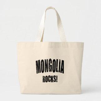 Mongolia Rocks! Canvas Bag