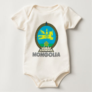 Mongolian Emblem Baby Bodysuit