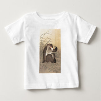 Monkey and  Butterfly Baby T-Shirt