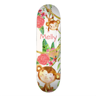 Monkey Around the Jungle Block Skateboards