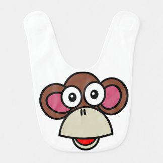 Monkey Baby Bibs
