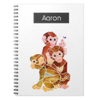 """Monkey Business"" Notebooks"