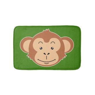 Monkey Face Bath Mats