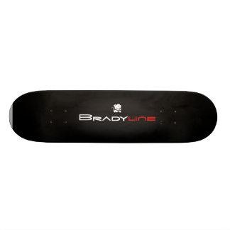 Monkey in Black Skateboard Deck