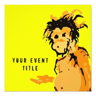 monkey ink personalized invite