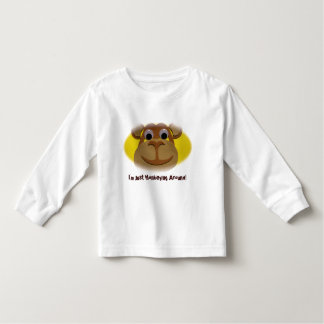 Monkey Long Sleeve Shirt For Toddlers