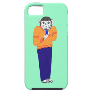 Monkey on iPhone,on various iPhone cases Customize